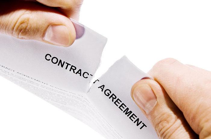 Cómo se da término al contrato de trabajo por parte del empleador
