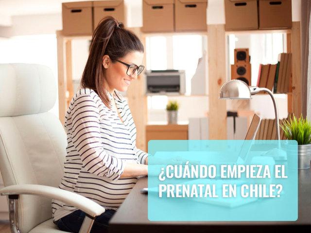 Cuándo empieza el prenatal en Chile